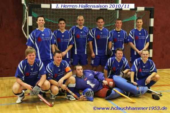 Herrenmannschaft1 Halle Saison 10/11