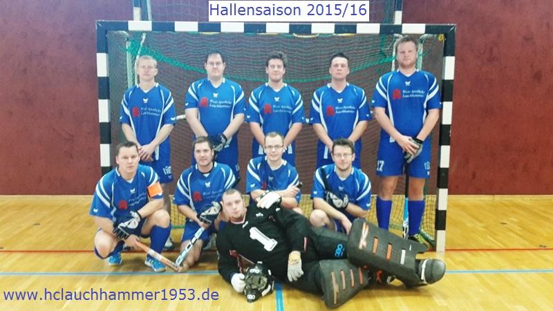Herrenmannschaft Halle Saison 15/16